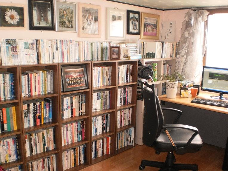 작은방(서울집과 시골집) 서재
