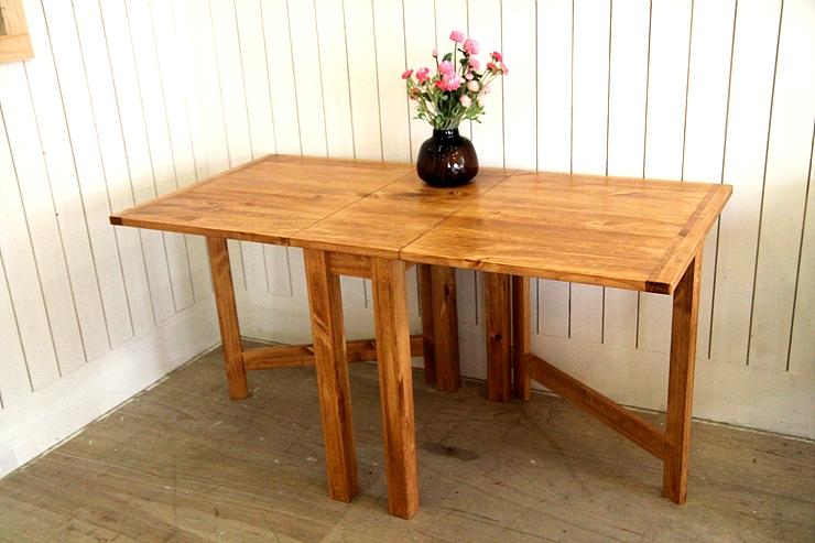 소나무접이식테이블