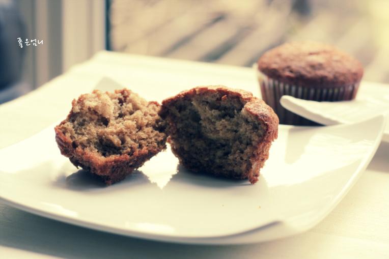 허니 오트밀 머핀 - 백악관의 아침식사 메뉴