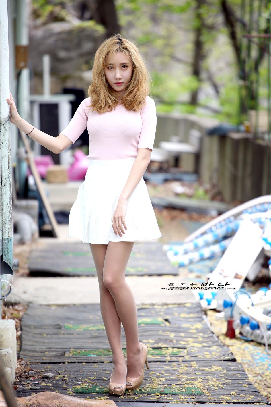 [사진]레인보우 승아, 패션쇼 모델 변신