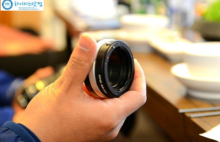 렌즈변환 어댑터 소니에서 니콘렌즈 사용하기