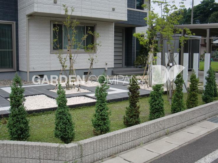 [가든컴퍼니두] 경기도 하남시 고급주택 마당정원설계시공사례 ...