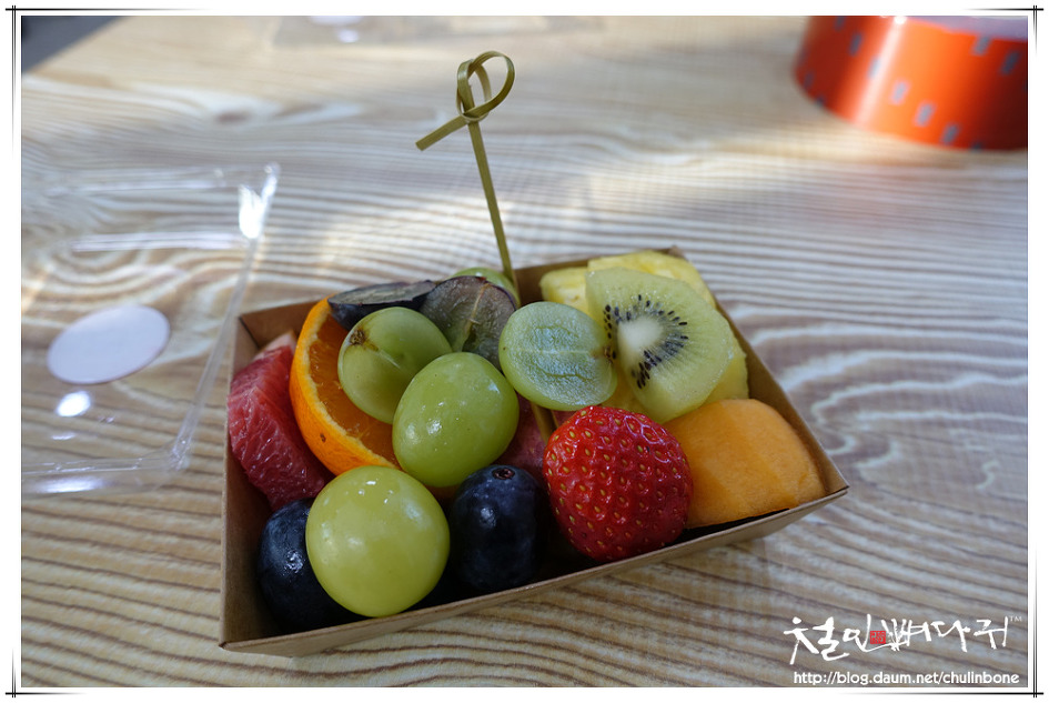 [대전먹거리] 사과나무과일가게-과일도시락.파인애플주스.과일샌드위치(서구.둔산동)