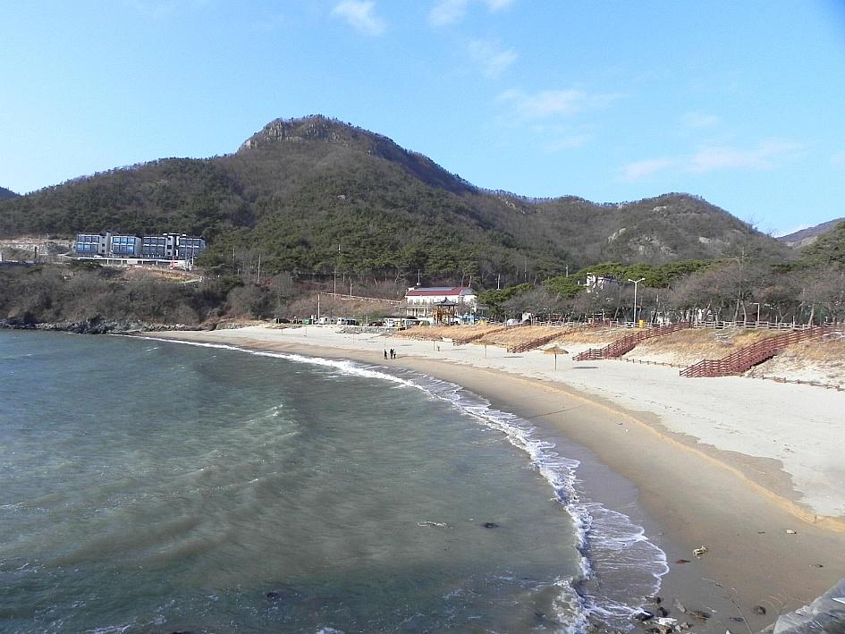 (변산반도여행)힐링과 웰빙 모두 갖추고 있는 변산반도 해변 ☞모항해수욕장